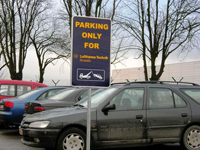 Parkingborden