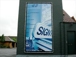 Bedrijfsbord laten maken door Signtec